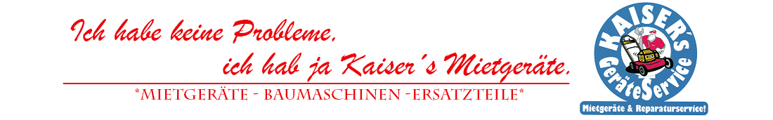 Kaisers Mietgeräte & Service